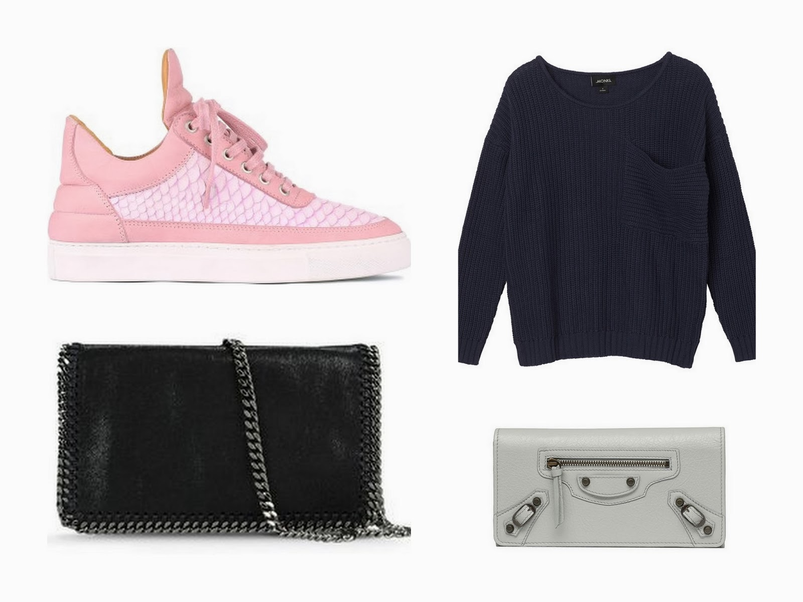 balenciaga, filling pieces, monki, stella mccartney