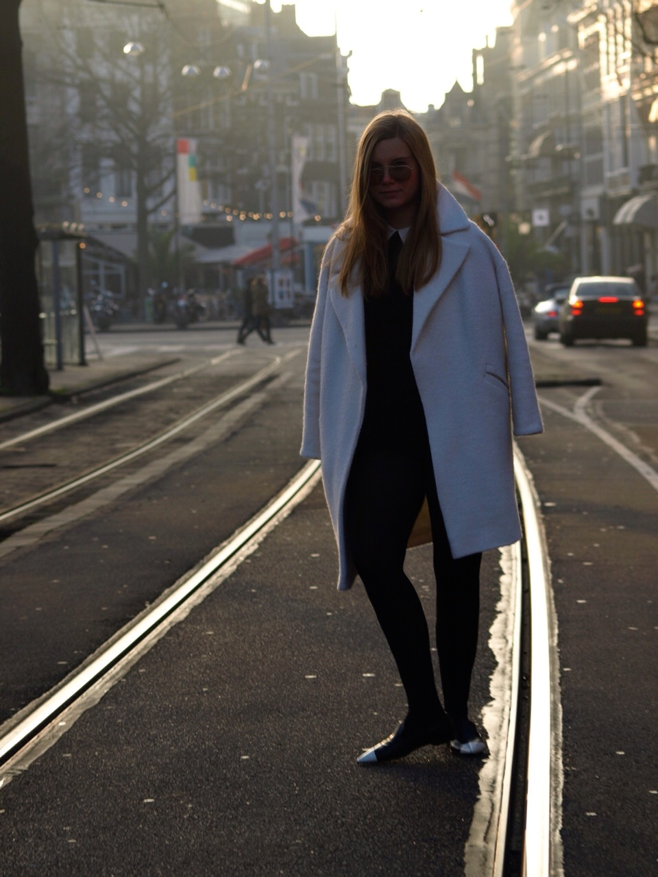 blogger, outfit, fashion, blog, dominique, candido, deau, asos, playsuit, coat, miu miu, prada