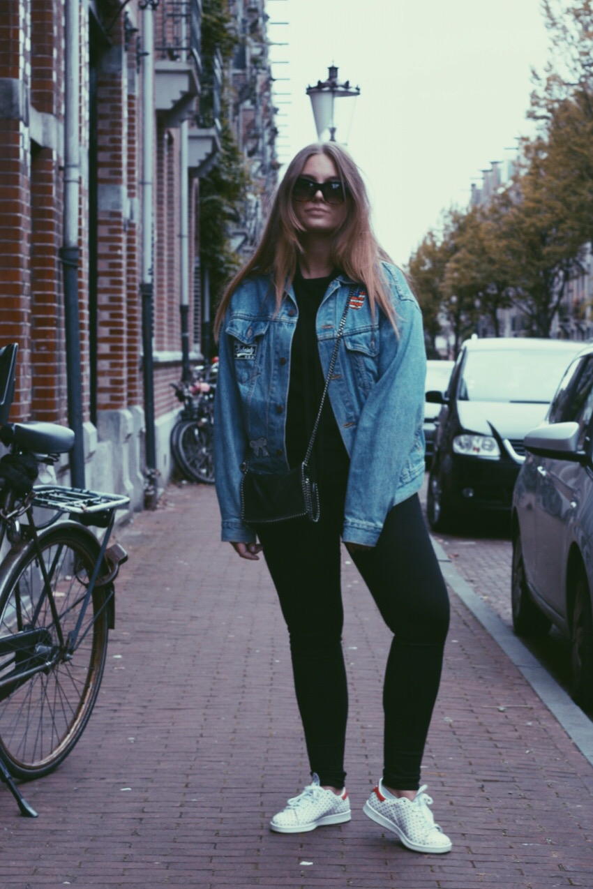 blogger, deau, blog, fashion, stella mccartney, celine, levi's, levis, zadig&voltaire, asos, adidas, outfit, mode, inspiration, fall, winter, jacket, patch, patches,