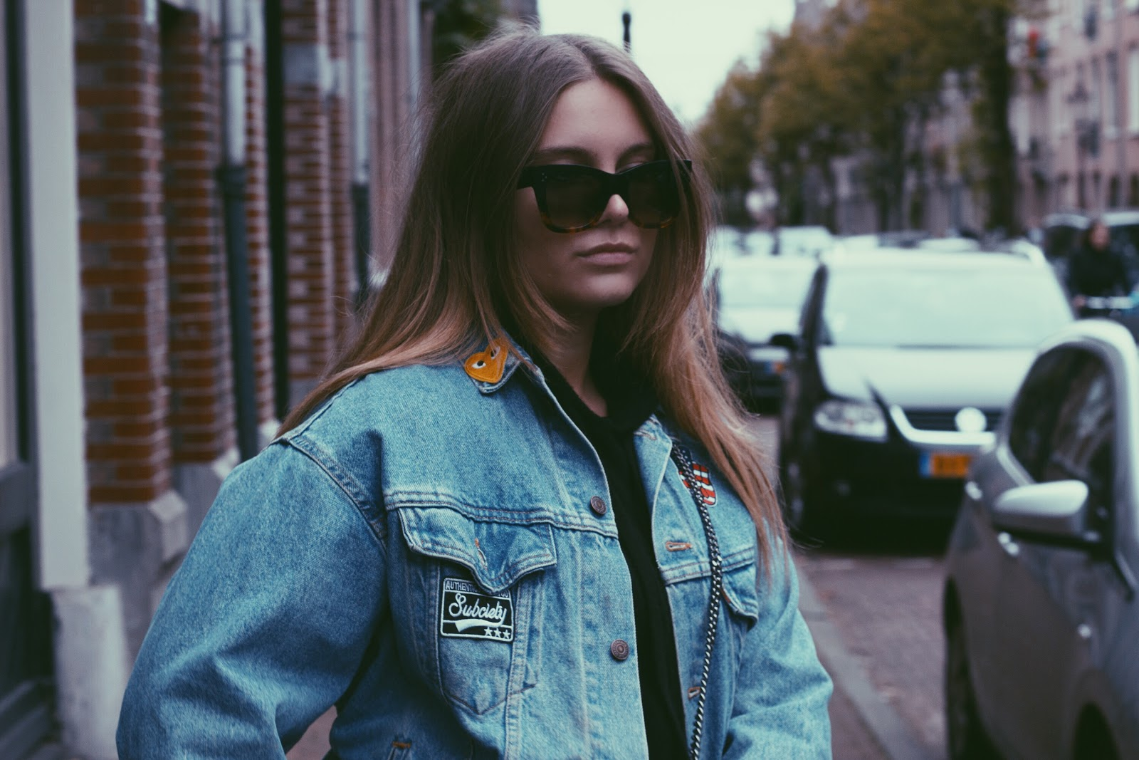 blogger, deau, blog, fashion, stella mccartney, celine, levi's, levis, zadig&voltaire, asos, adidas, outfit, mode, inspiration, fall, winter, jacket, patches, patch,