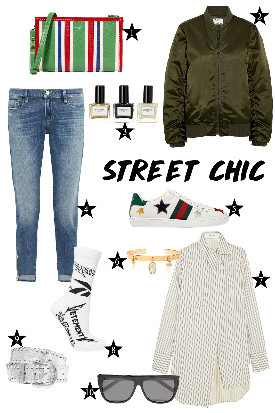 fashion, street chic, trend, 2017, mode, balmain, balenciaga, isabel marant, gucci, vetements, frame, saint laurent, maison margiela, adeam, acne studios, style, clothing,