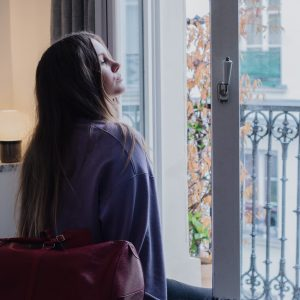 Blogger dominique candido at Le Pigalle Paris