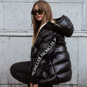 Moncler x stylebop.com puffer unisex jacket worn by Dominique Candido